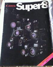 Canon Super8 Catálogo 1980