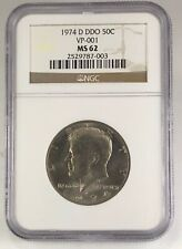 NGC MS-62 1974-D Doubled Die Kennedy Half Dollar