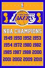 Los Angeles Lakers Champions 3x5 Feet Banner Flag Nba