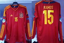 Camiseta Selección Española España Eurocopa 2012 Sergio Ramos