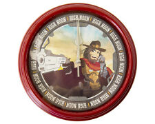 McCree High Noon Clock - Video Game Wall Clock - Overwatch - Video Game Art