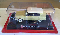 "DIE CAST "" CITROEN AMI 6 - 1963 "" SCALA 1/43 AUTO PLUS + BOX 1"