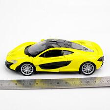 1/32 Diecast Car Alloy Yellow McLaren P1 Sports Car Vehicle Model w/light&sound