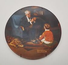 Norman Rockwell The Tycoon Collector Plate by Knowles