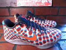 Nike KOBE XI 11 3D Mens Shoe Size 11 NEW 836183-084 Cool Grey Crimson Blue