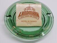 Landmark Hotel Las Vegas Ashtray And Matchbook Lot Of 2 Nevada