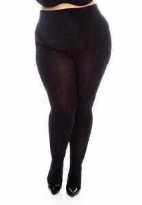 All Woman Plus Size XXXL Extra Large Thick Warm 150 Denier Tights UK-Size 16-36