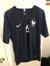 1f8af7bef Brand New 2018 France Paul Pogba Home Soccer Jersey Large Nike Football Man  Utd
