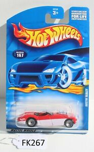 Hot wheels HW Austin Healey Red Collector #167 FNQHotwheels FK267