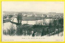 cpa 08 - SEDAN en 1900 (Ardennes) Vue Générale Prise de la GARE
