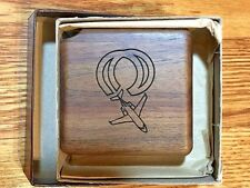 VINTAGE RARE WOODEN CANADAIR TAPE MEASURE / ONE OF A KIND / FREE SHIPPING