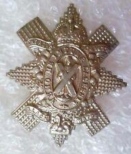 VINTAGE Royal Highland Black Watch Cap Badge KC WM 2 Lugs Original