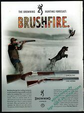 2004 German Wirehaired Pointer Browning Citori 525 & Lightning Shotgun Ad