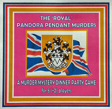 HOST A 'ROYAL' MURDER MYSTERY DINNER PARTY GAME ~ FOR 8 (+2) PLAYERS**