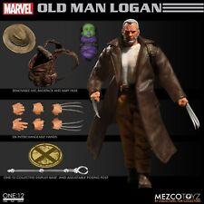 ONE:12 Marvel Comics X-MEN Wolverine Old Man Logan action figure Mezco 1/12