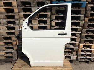 VW T5 Tür Links Multivan Fahrerseite Fahrertür Original Weiß Weiss**JU38