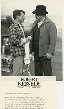 BRAD DAVIS JACK WARDEN ROBERT F KENNEDY AND HIS TIMES ORIGINAL 1984 CBS TV PHOTO
