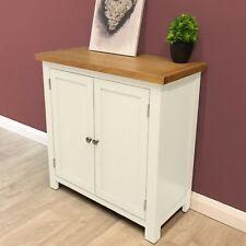 Belgravia White Painted Small Linen Cupboard /Storage / Hallway / Solid Wood New