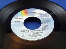 THE AUTOMATIX - When The Feeling Is Gone / Take It To The Top - 1983 NEAR MINT-