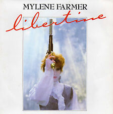 MYLENE FARMER LIBERTINE / GRETA FRENCH 45 SINGLE