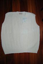 NWT Ivory Cable Knit CARLI V-Neck Sweater Vest  XL
