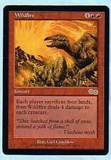 MTG 4X URZA'S SAGA WILDFIRE MINT MAGIC THE GATHERING ENGLISH RED RARE CARD