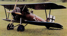 Giant 1/4 Scale German WW-I Siemens Schuckert D-III Biplane Plans,Temp,Inst 81ws