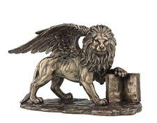 """10.25"""" Lion of Saint Mark San Marcos De Leon Statue Marc St Santo Figurine"""
