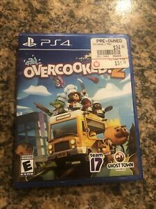 Mint Overcooked! 2 (Sony PlayStation 4/PS4)