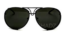 "XL  ""Posche"" OVERSIZED Women Sunglasses Aviator Flat Top Square Shadz HOT DATE"