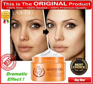 Original Korean Horse Oil Facial Cream Face For Oily Skin Anti-Freckle Whitening