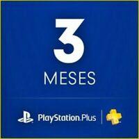 PSN 3 Meses { Play Station Plus 3 meses} *LEER DESCRIPCIÓN* [Entrega inmediata]