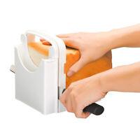 Bread Loaf Toast Sandwich Slicer Cutter Maker Kitchen Guide Slicing Tools AU