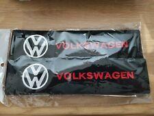 Seat belt pads VW logo padded cotton pads  vw