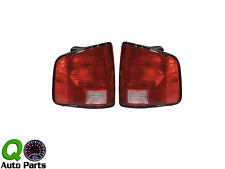 New Pair Set Taillight Taillamp Lens Housing S10 Hombre Sonoma Pickup Truck