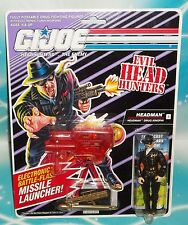 G I GI JOE 1991 DEF / HEADHUNTERS THE ENEMY HEADMAN DRUG KINGPIN FIGURE MOC