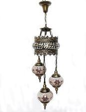 Hängelampe Lampe Orientalisch Istanbul Mosaiklampe Orient 1001 Nacht GL04OR-b