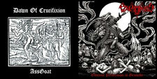 Excruciate 666/Dawn of Crucifixion - Obscene Perversion in Genocide/Goat Ass, EP