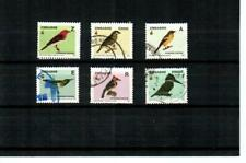 ZIMBABWE - 2005 Birds F/VF used ( 6 ) different