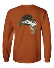 German Wirehaired Pointer w/Grouse T-Shirt Upland hunting pointers Ruffed Grouse