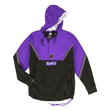 Toronto Raptors Mitchell & Ness NBA Half Zip Anorak Windbreaker Light Jacket
