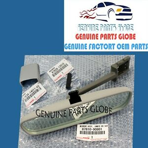 GENUINE TOYOTA 78-84 LAND CRUISER BJ40 BJ42 FJ40 FJ45 INNER REAR VIEW MIRROR KIT