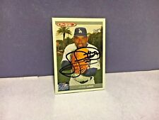 JOSE LIMA BASEBALL ROOKIE CARD, Autograph In person as Minor, NM