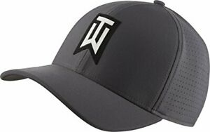 NEW NIKE [S/M] TW Tiger Woods AeroBill Classic99 Golf Hat/Cap-Grey 892482-021