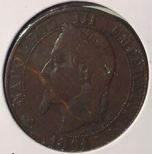 1861 FRANCE - CINQ CENTIMES - Napoleon III Empereur - Fine Details