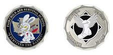 """FAIRCHILD AIR FORCE SURVIVAL SCHOOL I SURVIVED THE RABBIT 1.75""""  CHALLENGE COIN"""