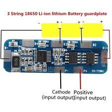 3S 3-5A Li-ion Lithium Battery 18650 Charger Protection Board 10.8V 11.1V 12.6v