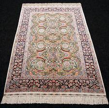 Orient Teppich Seide 136 x 93 cm China Seidenteppich Silk Carpet Rug Tappeto
