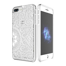 "Prodigee Show White Lace iPhone 7 PLUS 5.5"" Clear Transparent Case Slim Cover"