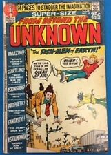 From Beyond The Unknown #10 (1971) Dc Comics Vg+